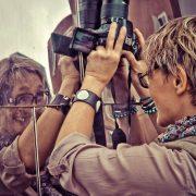 Een fotograaf